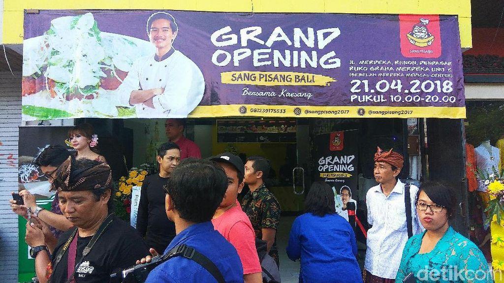Setelah Denpasar, Kaesang Pangarep Akan Jualan Sang Pisang di Kuta dan Buleleng