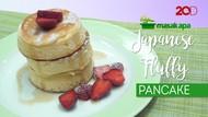 Manis Menggoda Japanese Fluffy Pancake