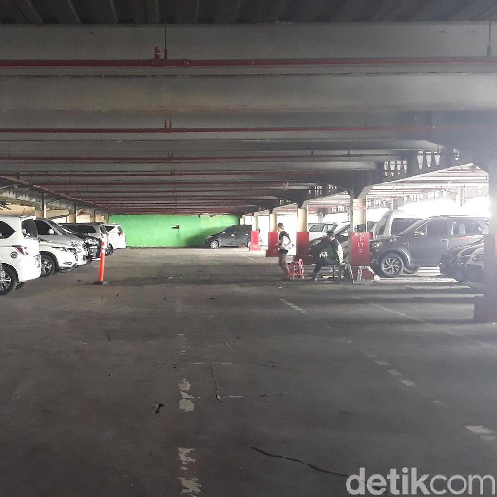 Parkir Blok F akan Tampung Pedagang Blok G Tn Abang, Ini Kondisinya
