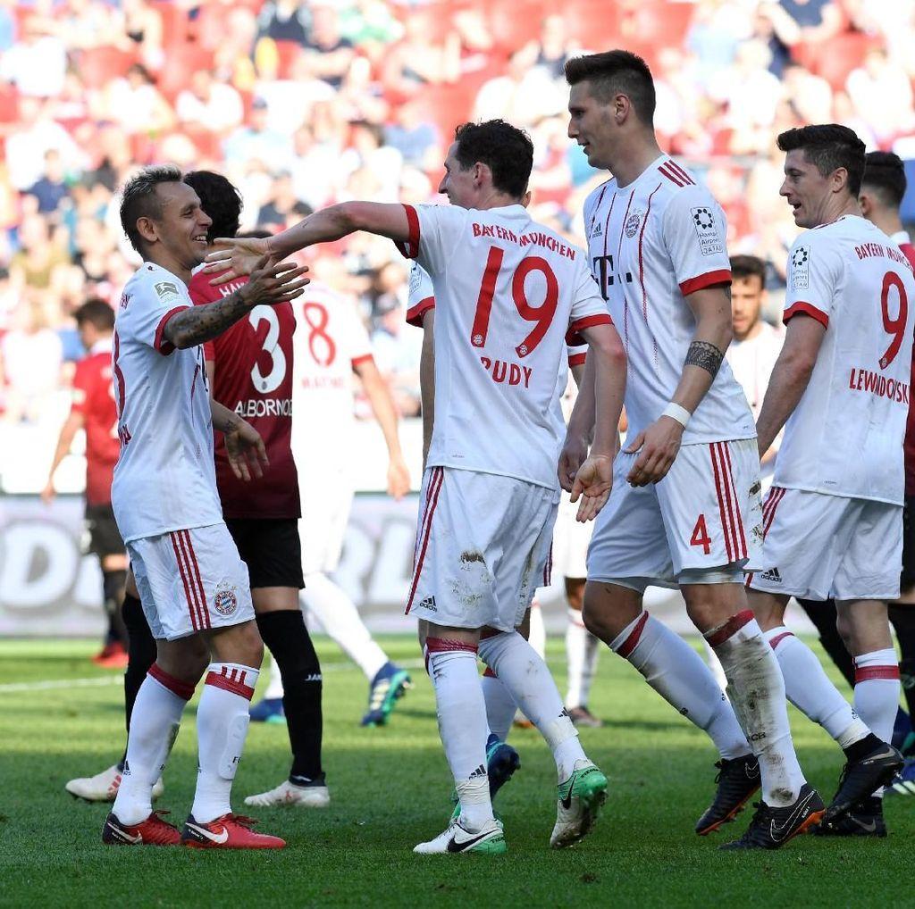 Tiga Gol Kemenangan Bayern di Markas Hannover