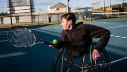 Amputasi Kedua Kaki Karena Penyakit Tak Halangi Pria Ini Tetap Olahraga