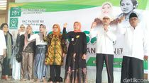 Ida Fauziyah Istighosah Bareng Kader Fatayat di Makam RA Kartini