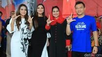 Puti Guntur, Anang dan Ashanty Sepanggung Kampanye di Lumajang