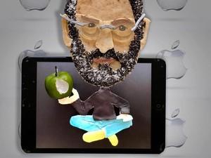 Wouw! Seniman Ini Ubah Roti Jadi Sosok Steve Jobs hingga Albert Einstein