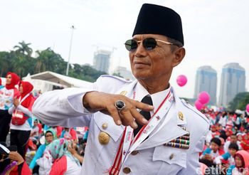 Ada Sosok Mirip Soekarno di Kartini Run 2018