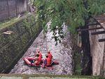 Ibu Asih Tenggelam di Kali Pondok Pinang Jaksel