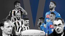 Juventus vs Napoli, Semua Demi Scudetto