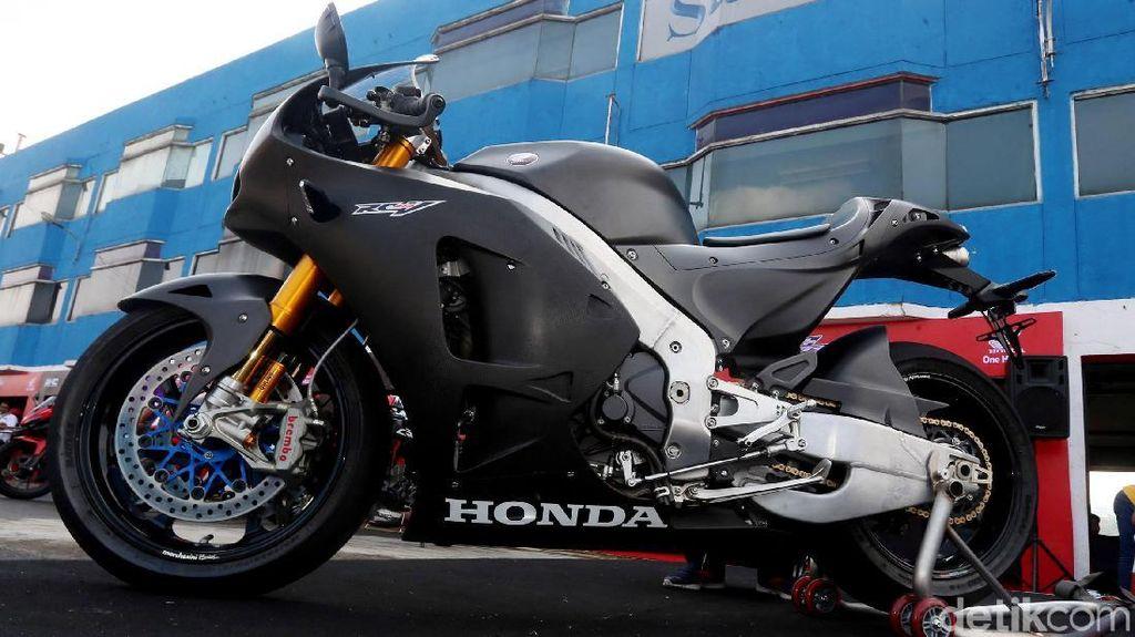 Melihat Lebih Dekat Honda RC213V-S Senilai Rp 7,6 Miliar