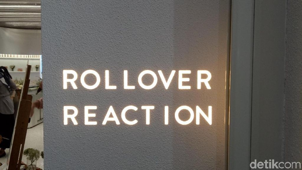 Rollover Reaction Buka Gerai Kecantikan Pertama di Plaza Indonesia