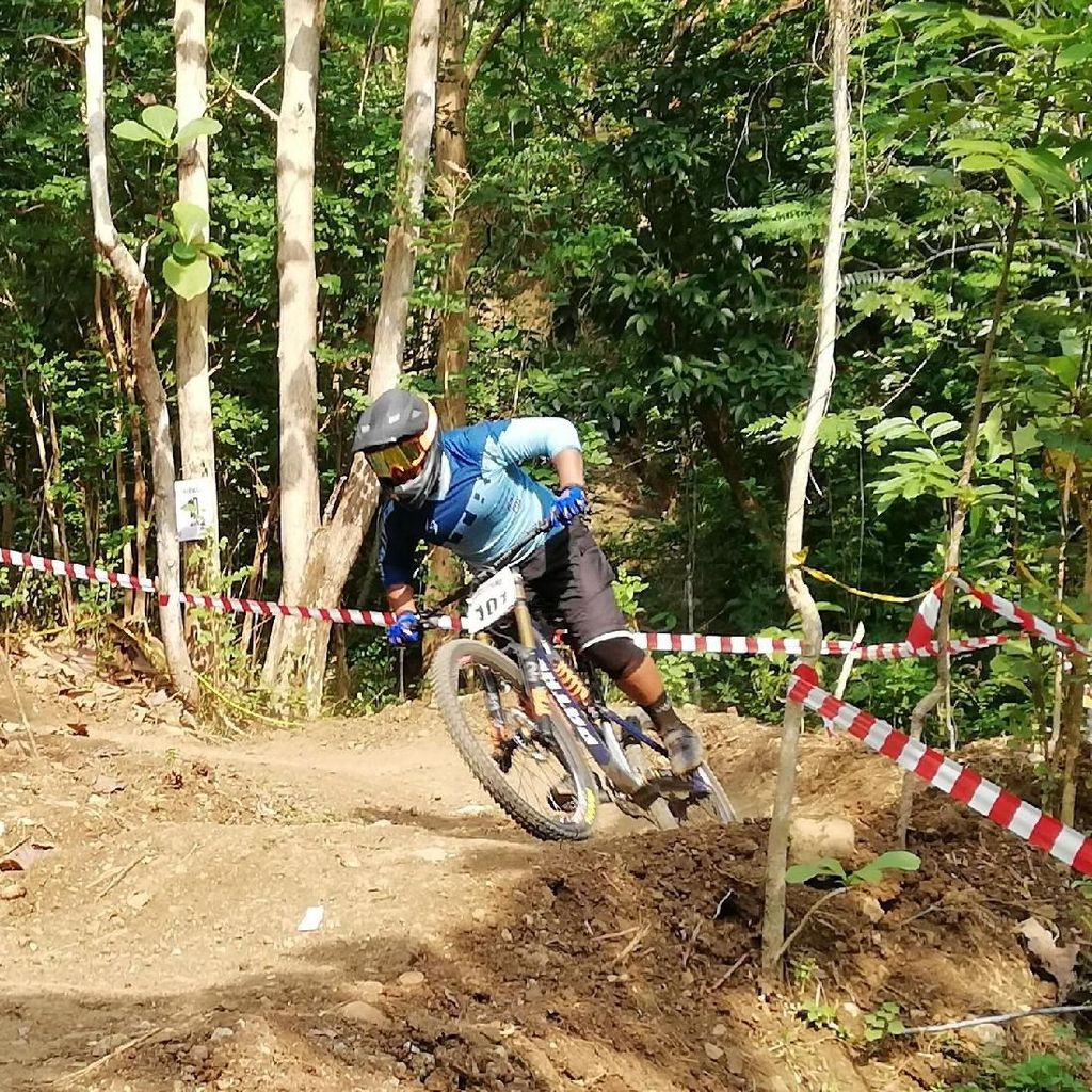 Tak Ada Atlet Nasional di Indonesia Downhill Urban Bantul