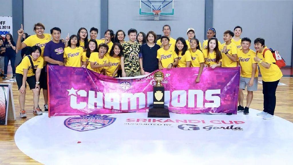 Surabaya Fever Juara Srikandi Cup