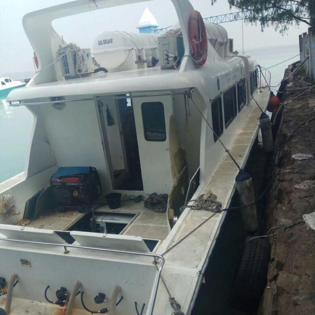 Kapal Dishub yang Meledak di Kepulauan Seribu Angkut 47 Penumpang
