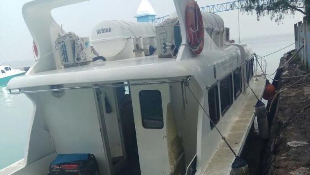 Kapal Dishub DKI Meledak di Kepulauan Seribu, 9 Orang Luka