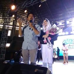 Di Kediri, Arumi Jadi Host Talkshow, Emil-Anji Duet Bernyanyi