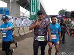 Ini Alasan Sandi Ingin Jadi 100 Orang Finish Pertama di JF3 Run