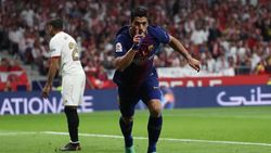 Suarez Selalu Moncer di Laga Final Bareng Barca