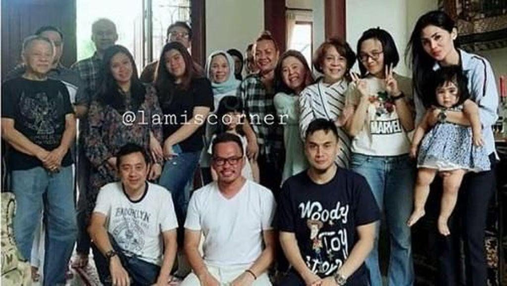 Kata Shafa Haris saat Lihat Foto Keluarga Faisal Haris dengan Jennifer Dunn