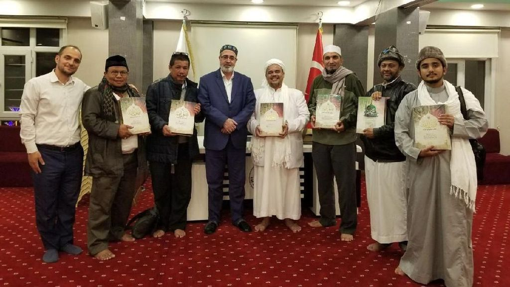 Habib Rizieq Berkunjung ke Maroko dan Turki