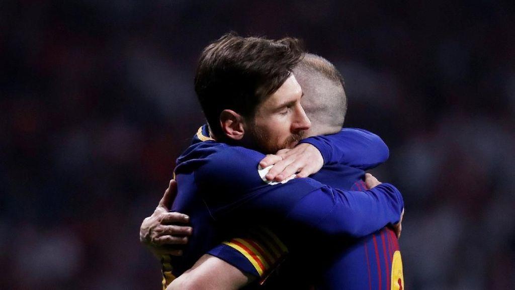 Messi dan Iniesta Sudah Punya 31 Trofi di Barca