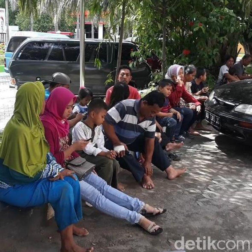 Jeritan dan Takbir Penumpang Bus Rombongan Muslimat Masuk Jurang