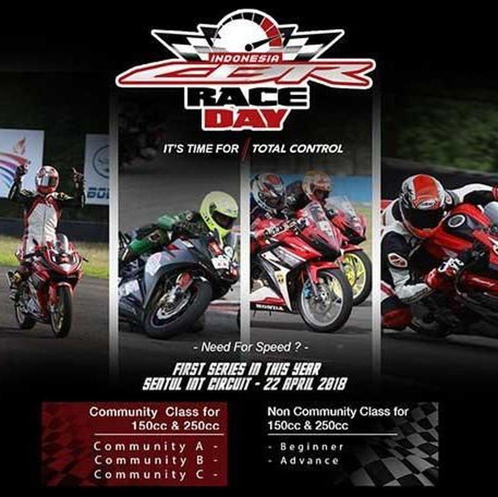 Darius Girang Bisa Tunggangi Honda CBR250RR di Sirkuit Sentul
