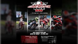 Parade Bikers di Indonesia CBR Race Day