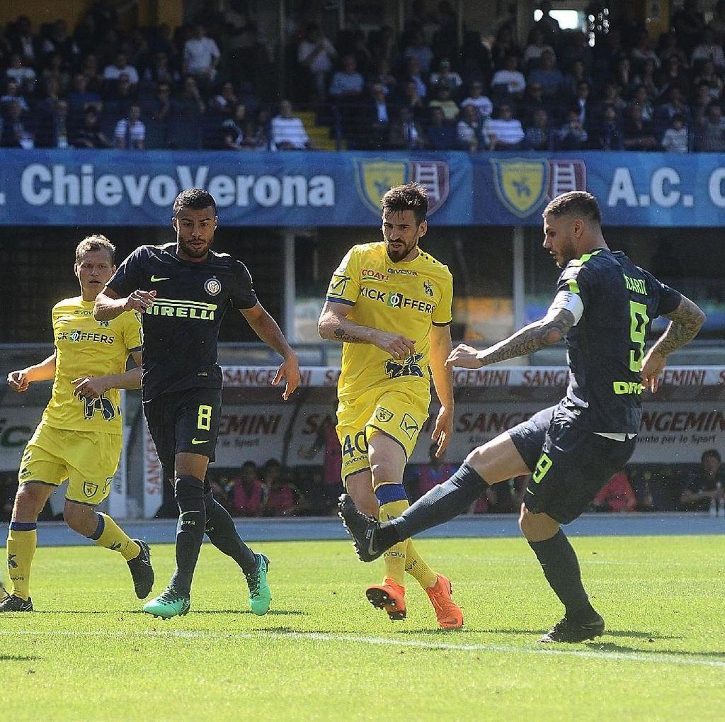 Inter Menang Tipis di Kandang Chievo