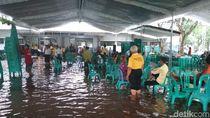Hujan Deras, Lokasi Harlah Muslimat NU di Tulungagung Kebanjiran