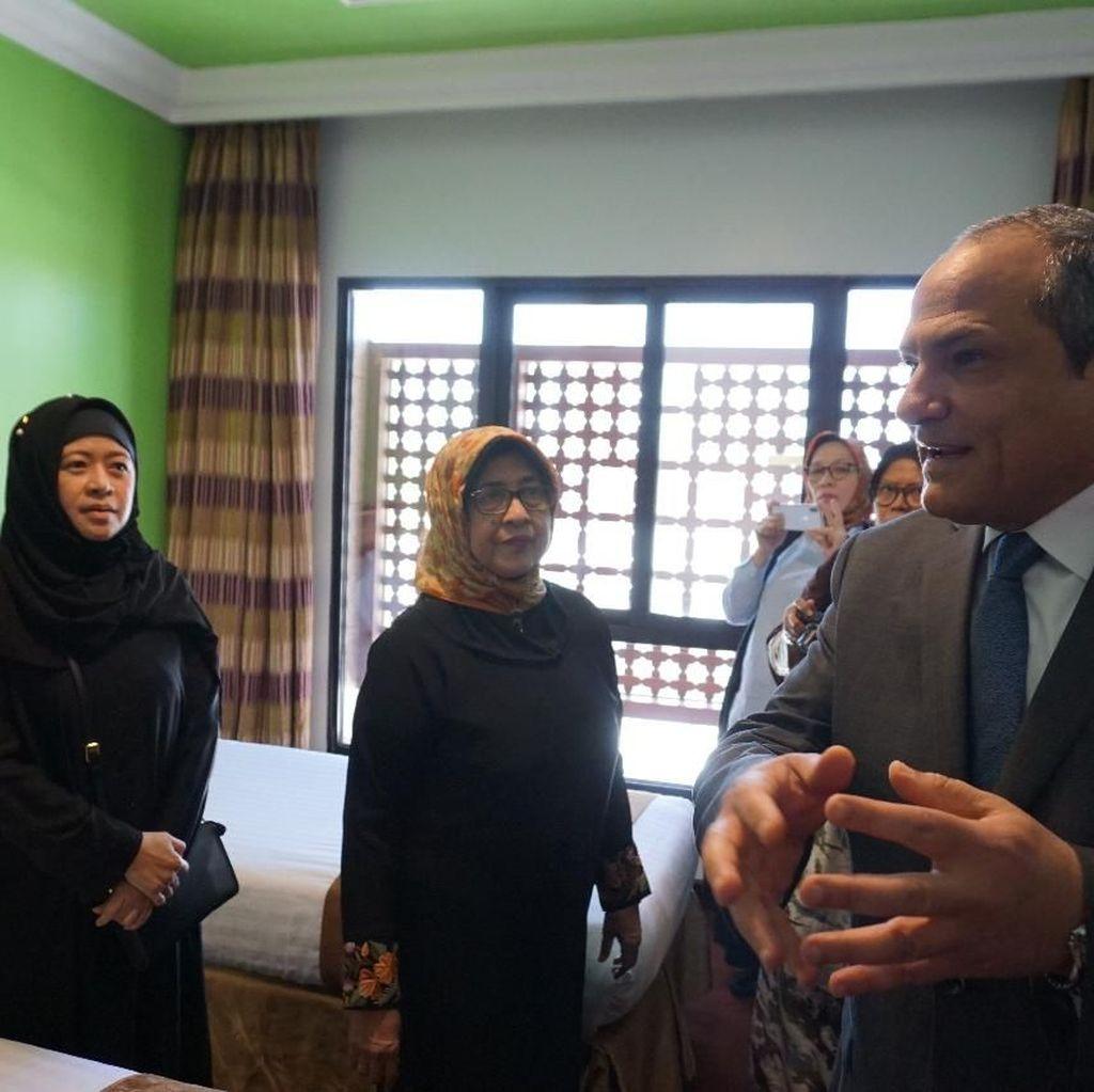 Tinjau Pemondokan Haji 2018, Puan Puas dengan Fasilitas Hotel
