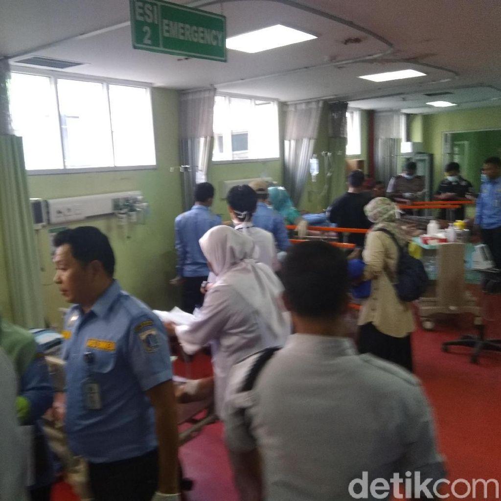9 Korban Ledakan Kapal Dishub Masih Jalani Perawatandi RS Koja