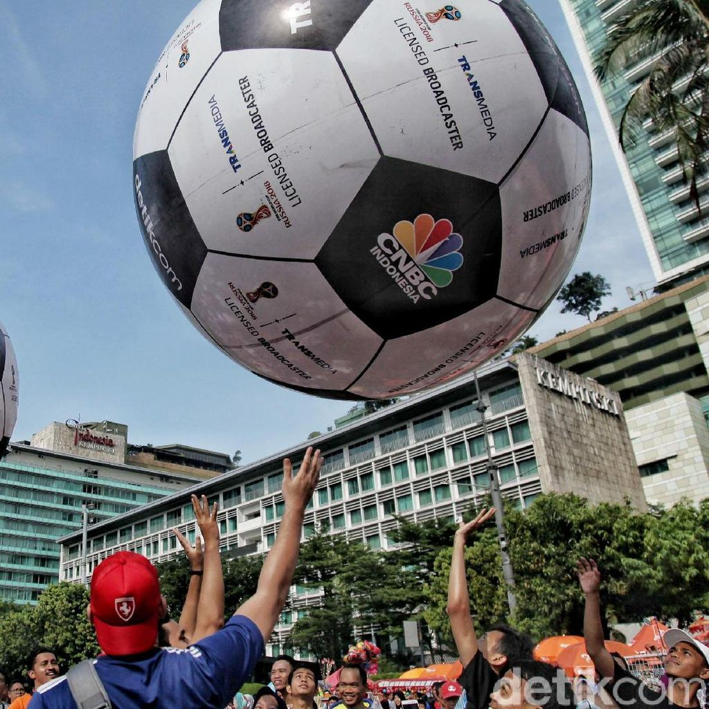 Keseruan Meyambut Piala Dunia di CFD