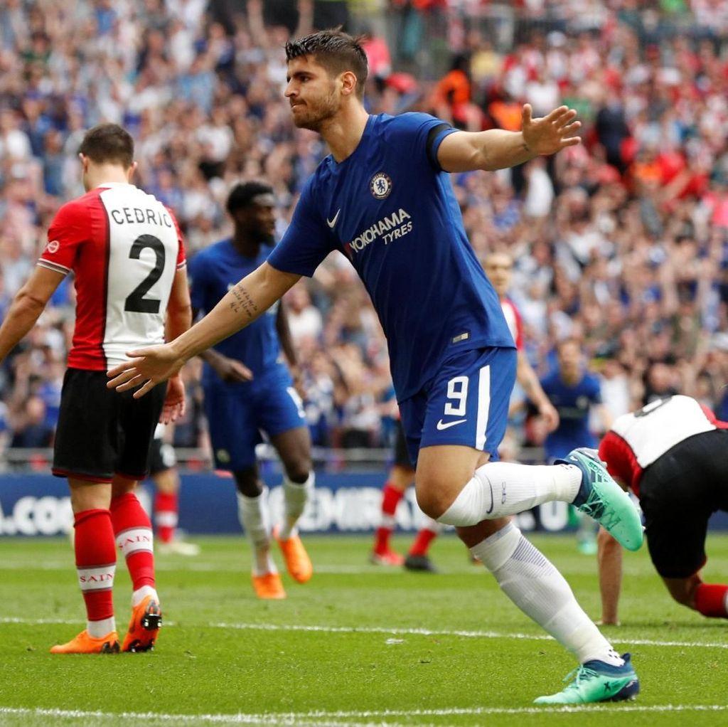 Depak Southampton, Chelsea Tantang MU di Final Piala FA