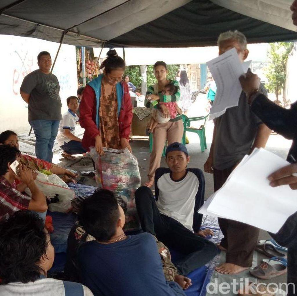 660 Korban Kebakaran Permukiman Padat di Tambora Mengungsi
