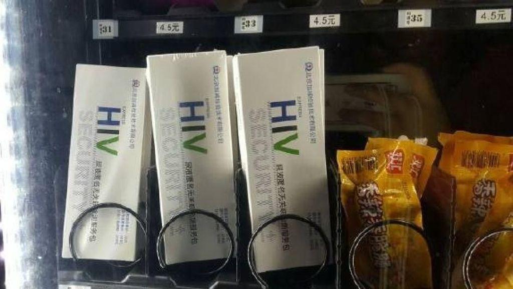 Unik! Kampus Ini Jual Alat Tes HIV di Vending Machine
