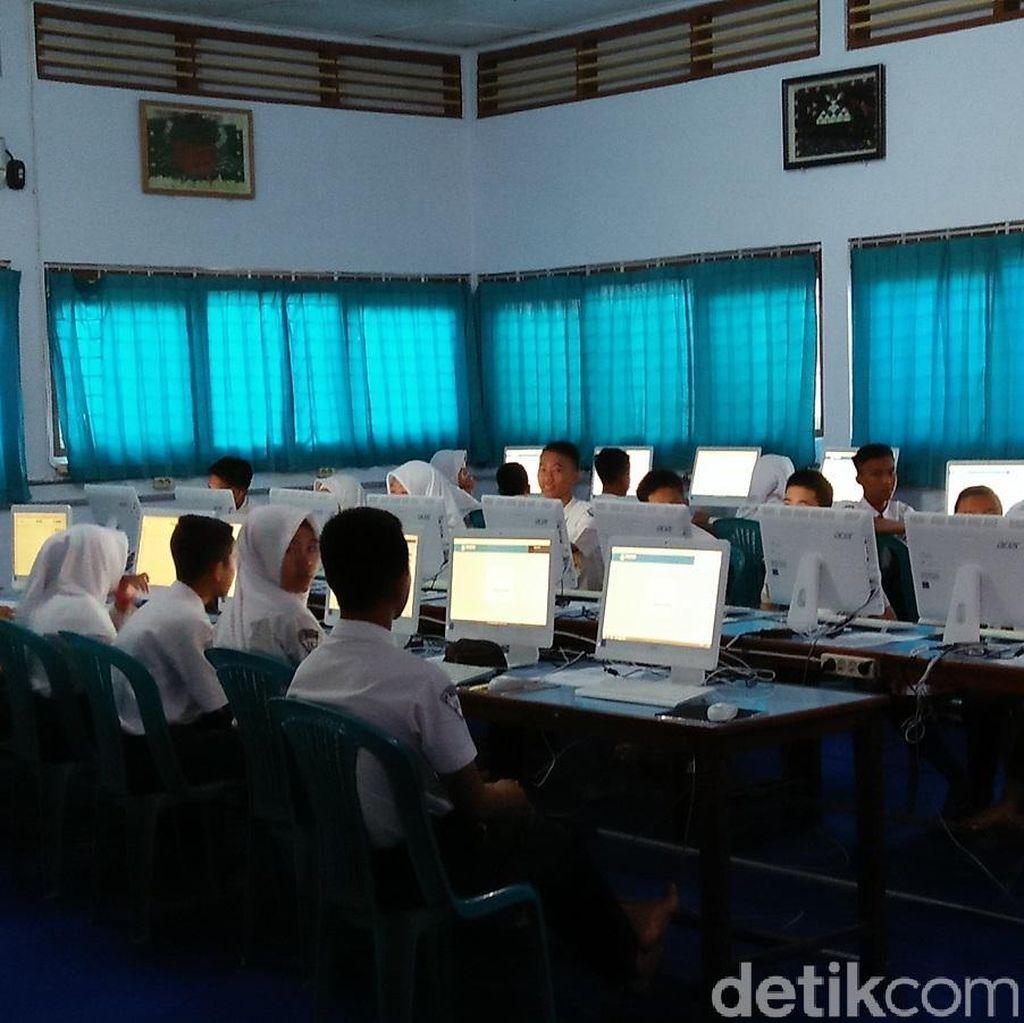 UNBK SMP di Banten Baru 60 Persen