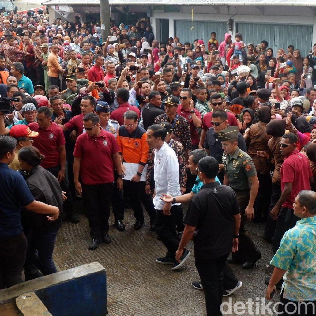 Jokowi Meminta Pembangunan Rumah Korban Gempa Selesai 6 Bulan