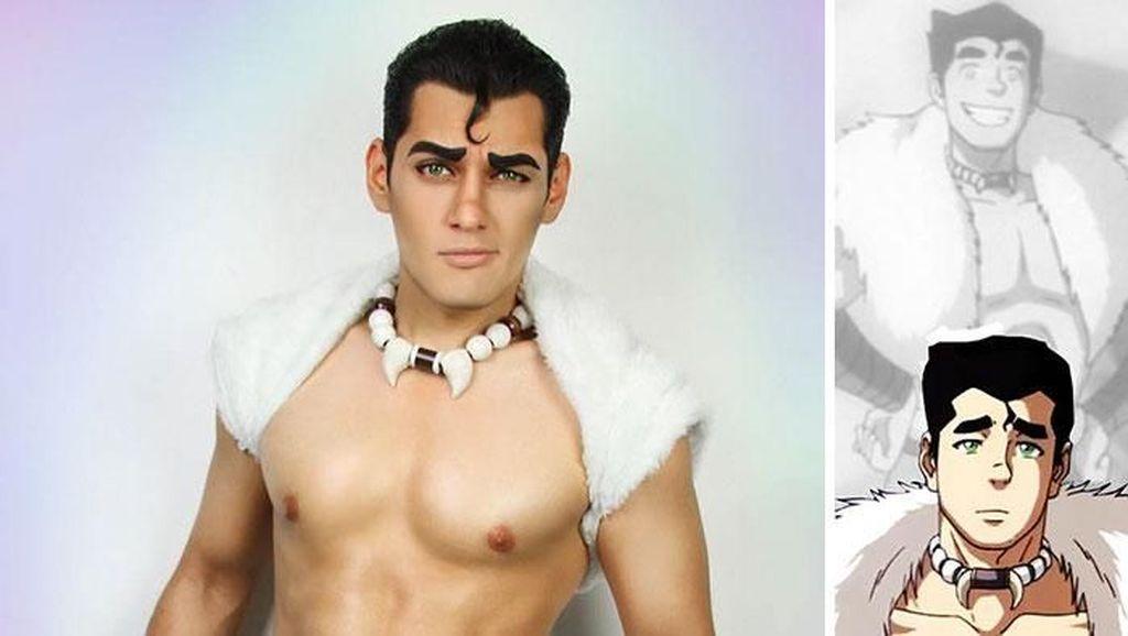 Cosplayer Ini Bisa Jadi Siapa Saja, dari Tarzan hingga Squidward
