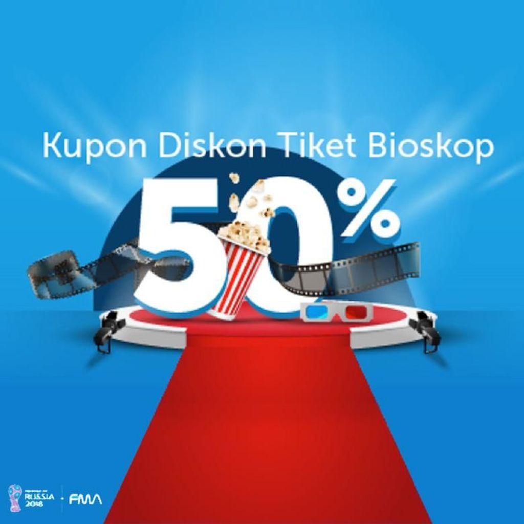 Beli Tiket Bioskop di Traveloka Bisa Dapat Diskon 50%!