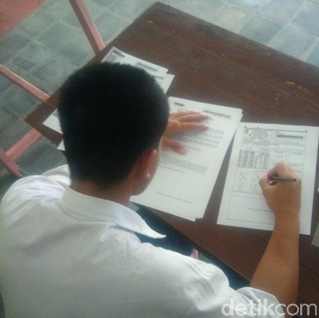 Di Gunungkidul, 3 Siswa SMP Garap Ujian Nasional dari Balik Bui