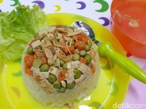 Resep Nasi Tim Tahu Sayuran