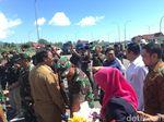 Panglima-Ketua DPR Tinjau Pembangunan Pangkalan Militer di Natuna