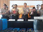719 Liter Miras Oplosan Diamankan dari 86 Lokasi di Madiun