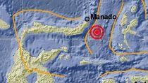 Gempa 5,4 SR Guncang Tenggara Minahasa