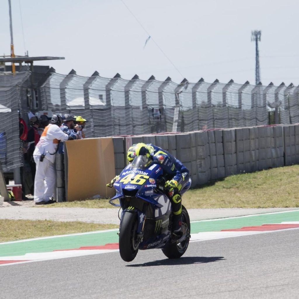 Rossi Benar-benar Khawatir dengan Honda