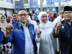 Selawatan Bareng Khofifah, Zulkifli Hasan: PAN Pilih yang Amanah