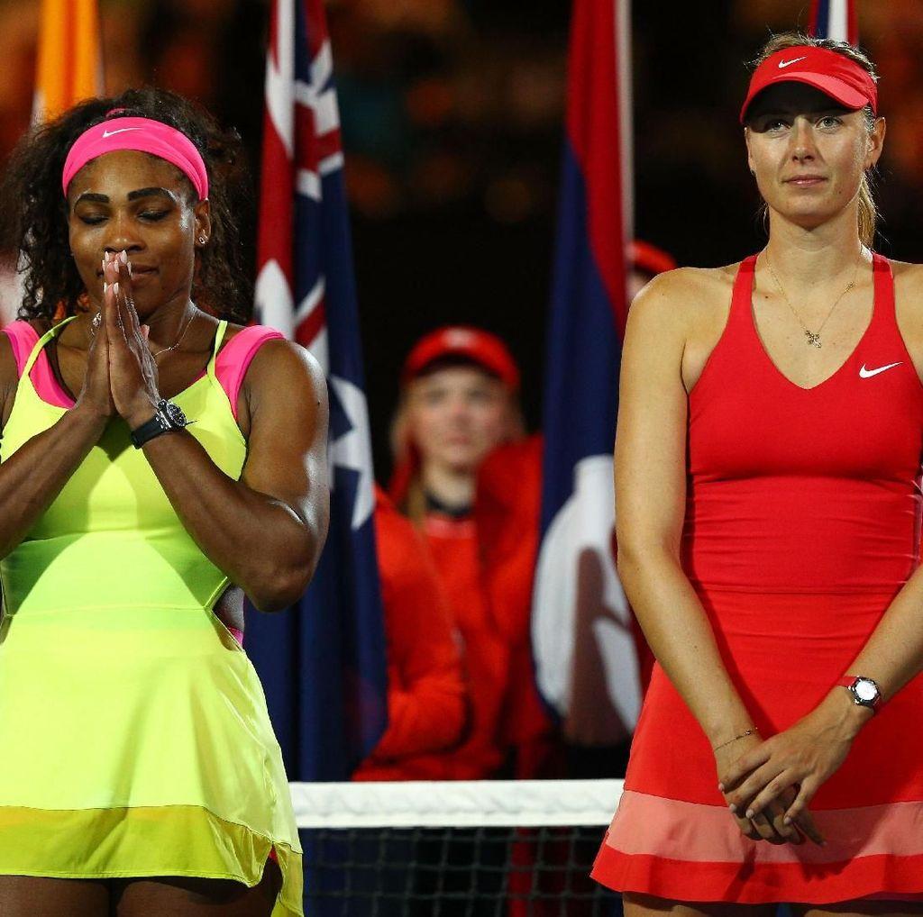 Sharapova Takkan Pernah Berteman dengan Serena