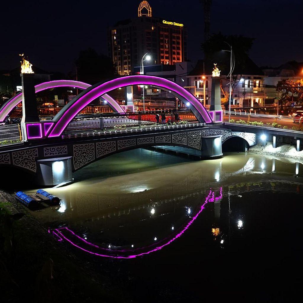 Besok Ditutup 10 Jam, Jembatan Ujung Galuh Dites Beban 200 Ton
