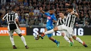 Babak I Usai, Juventus vs Napoli Masih 0-0