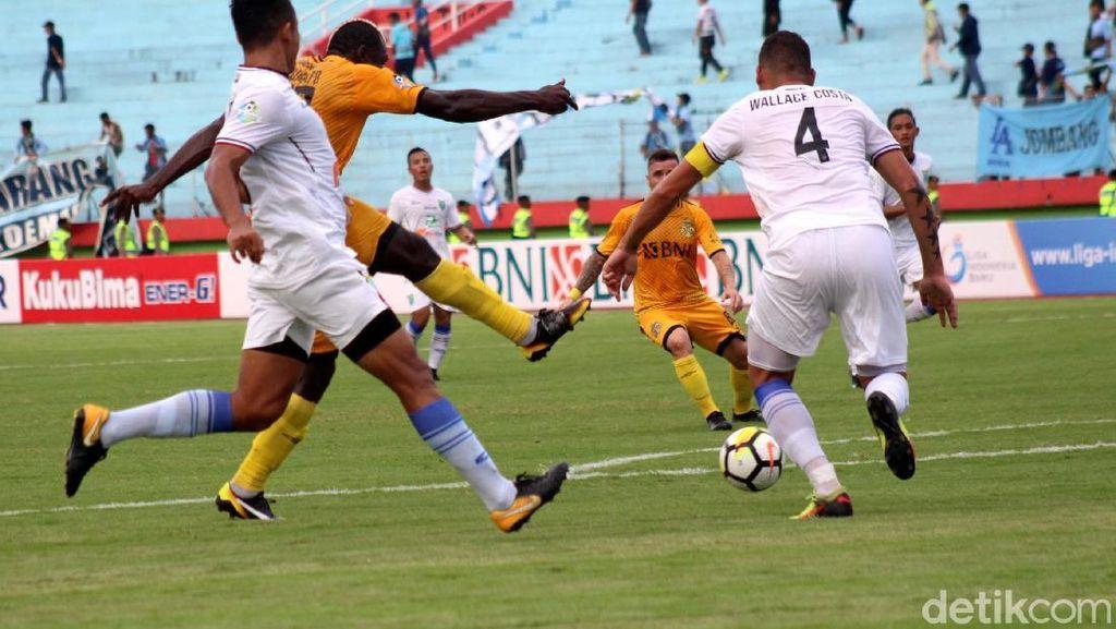 Duel Persela vs Bhayangkara Tanpa Pemenang