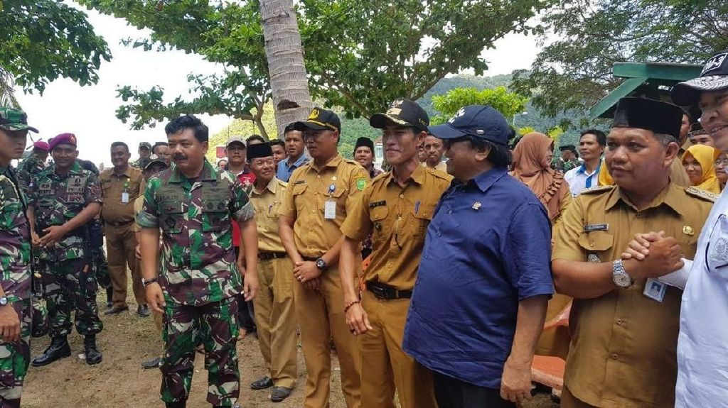 Blusukan ke Natuna Bareng Panglima TNI, Ini yang Diperjuangkan OSO